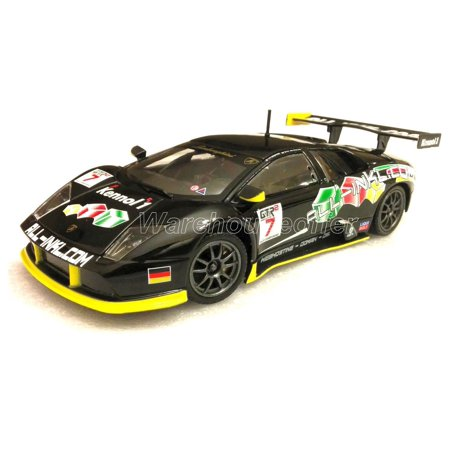 Box Race (BBURAGO 1:24 DISPLAY LAMBORGHINI MURCIELAGO FIA GT#7 RACE DIECAST CAR MODEL 1 PIECE 24001-7 NO RETAIL BOX)