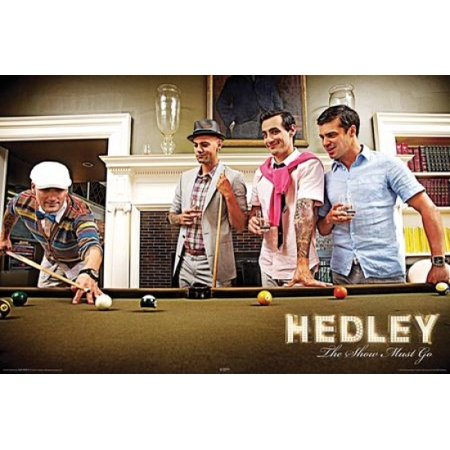 Hedley - The Show Must Go - Pool Table Poster Print (24 x 36)
