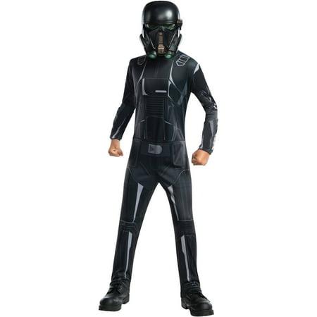 Star Wars Rogue One Death Trooper Child's Costume, Medium (8-10) (Death Star Costume)