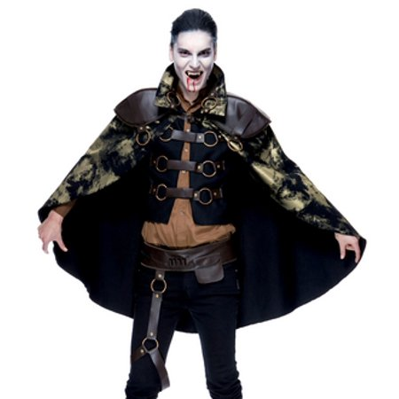 - Paper Magic Steampunk Vampire Goth Cyber Punk Adult Cosplay Costume