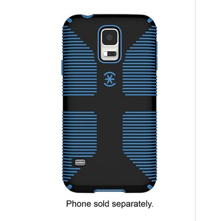 Speck Candyshell Grip With Faceplate Case Samsung Galaxy S5 Black Jay Blue Zebra Samsung Faceplates
