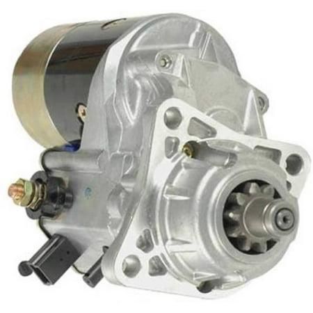 NEW 12 VOLT 10 TOOTH 2.7KW STARTER MOTOR FITS CATERPILLAR ENGINE 4.248 PERKINS