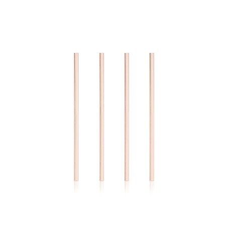Summit Wide Copper Cocktail Straws - image 2 de 2
