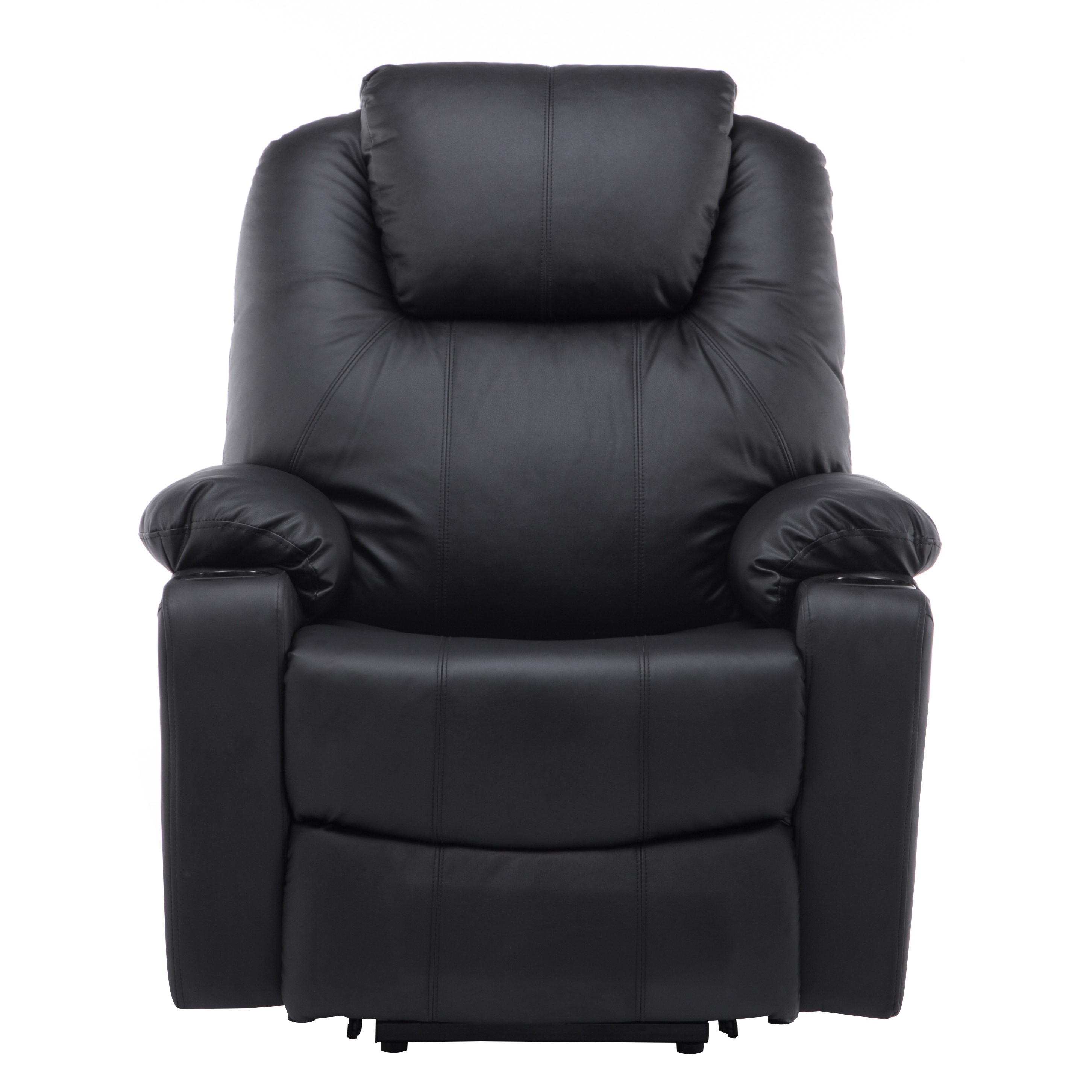 electric power lift massage sofa recliner heated chair lounge w rh walmart com