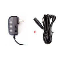 OMNIHIL 8FT 12V 1A - 2A 1000mA - 2000mA AC/DC Adapter with 10FT Extension Cord for CCTV Cameras with 5.5mm x 2.1mm Plug 23' Total Length