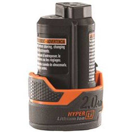 Ridgid 12-Volt 2 Amp Hour Hyper Lithium-Ion Battery (Dewalt 12 Volt Lithium Battery)