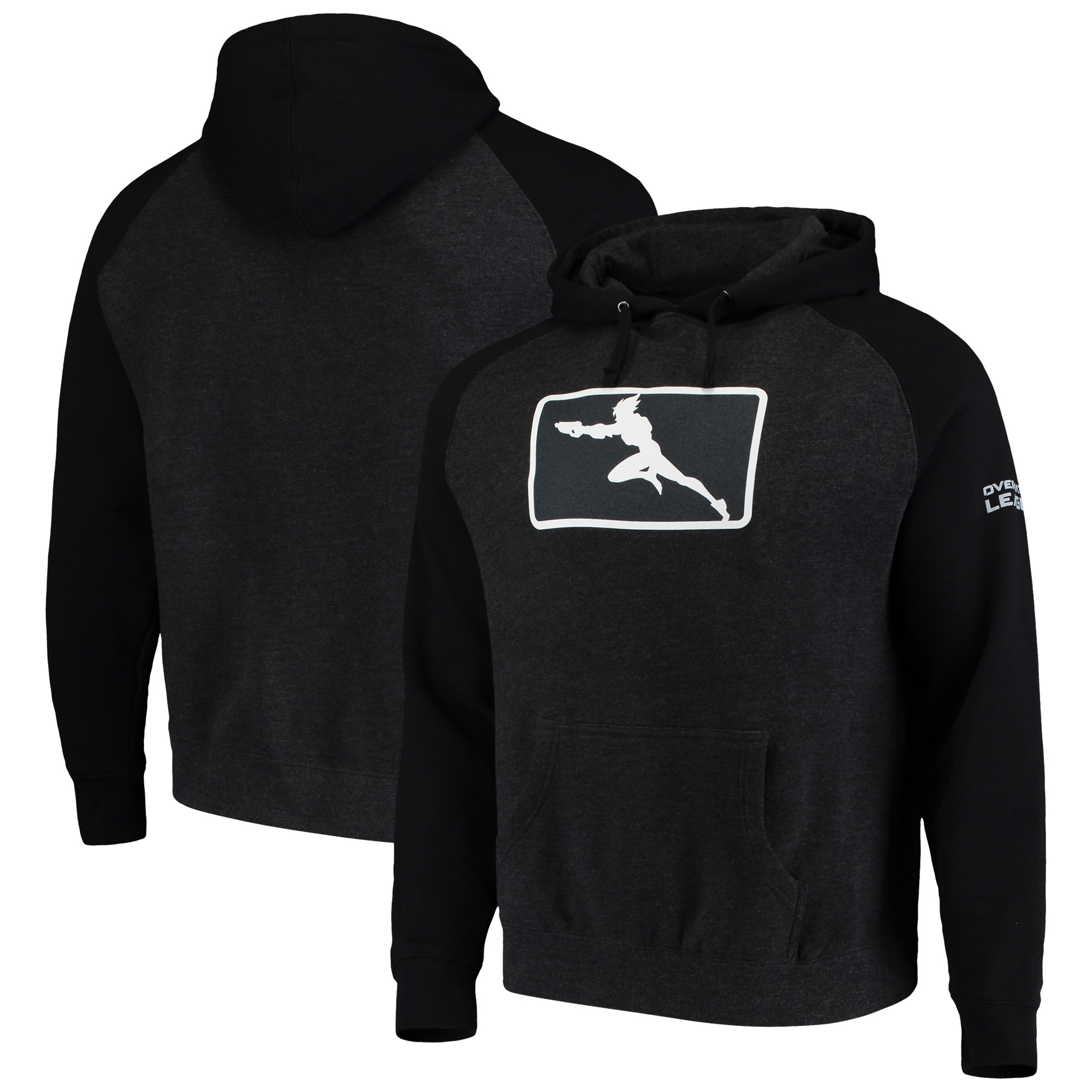 Overwatch League Franchise Logo Pullover Hoodie - Black/Charcoal