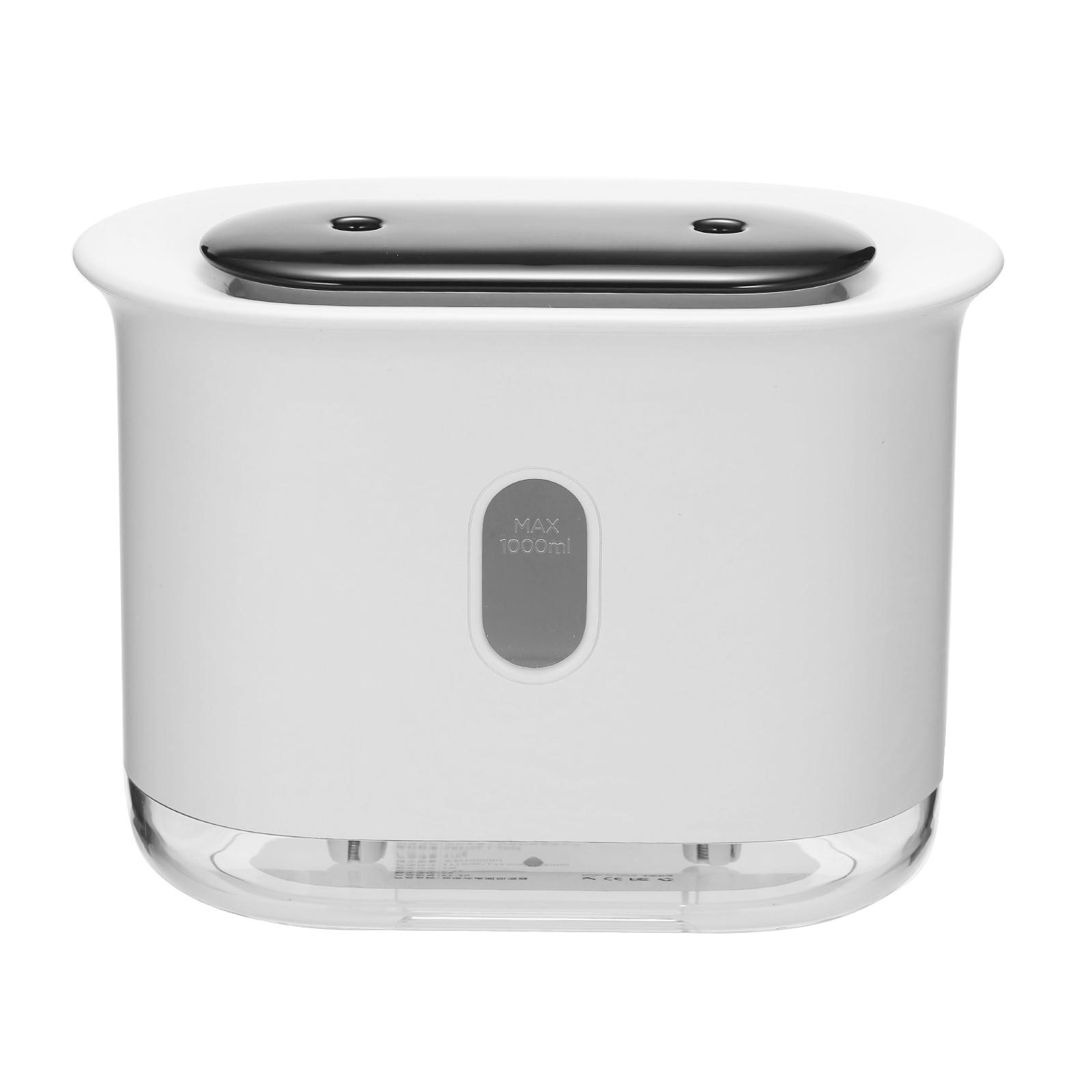 Cacagoo 1000ml Desktop Humidifier Double Mist Spray Vent Cool Mist Maker Air Diffuser Led Night Lights Battery Digital Display For Home Office Use Walmart Com Walmart Com