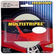 TRIMBRITE R32008 Pinstripe Tape, White, 40 inch X 0. 31 Ft.