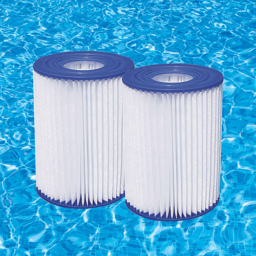 A or C Pool Filter Cartridges, 2pk