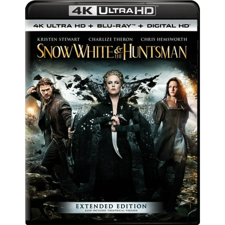 Snow White & the Huntsman (Extended Edition) (4K Ultra HD + Blu-ray + Digital (Snow White And The Huntsman 2 2015)