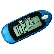 Best Glucose Meters - Diabetes Care Pocket Blood Glucose Meter Blue- 1 Review