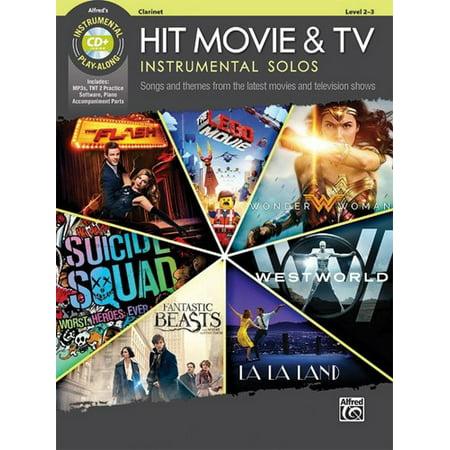 Alfred Hit Movie & TV Instrumental Solos -Clarinet Book &
