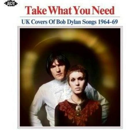 Take What You Need: UK Covers Of Bob Dylan Songs 1964-1969 / Various (CD)](Top Ten Halloween Songs Uk)