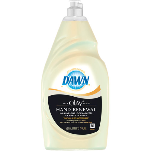 Dawn Ultra Hand Renewal Dishwashing Liquid With Olay Beauty, 19 oz