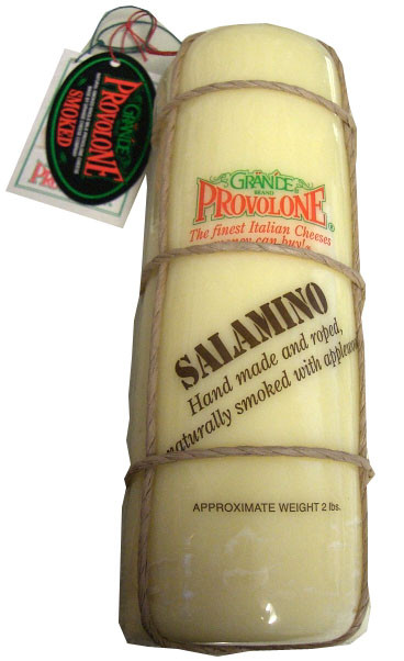Provolone Cheese, Salamino LOG (Grande) approx. 2 lbs by