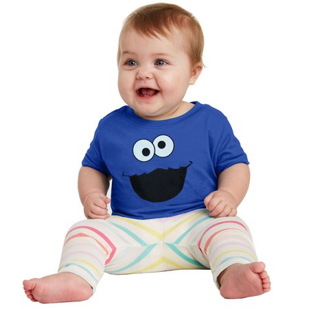 Sesame Street Cookie Monster Infant T-Shirt](Monster Outfit)