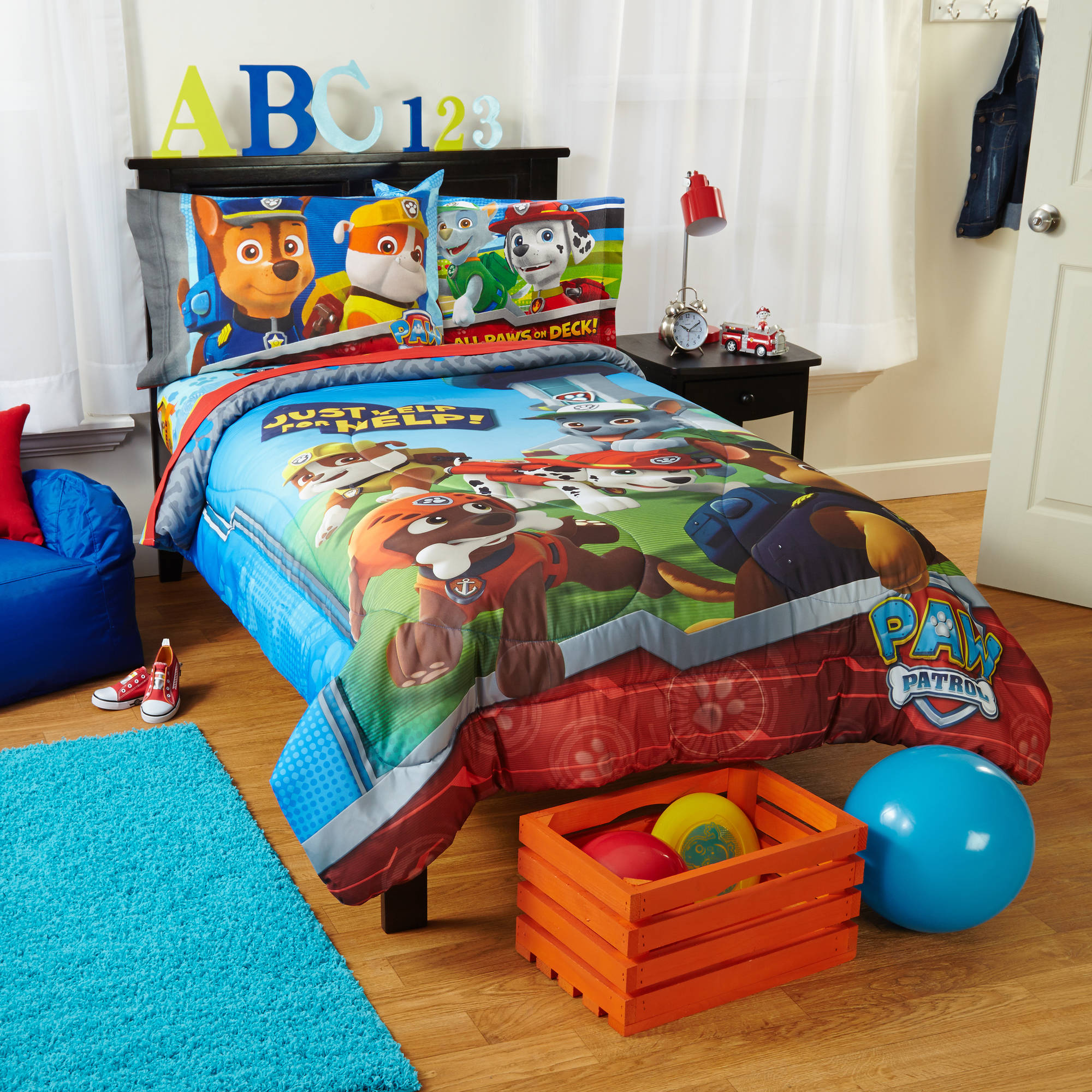 Nickelodeons Paw Patrol Kids Bedding Comforter Twin