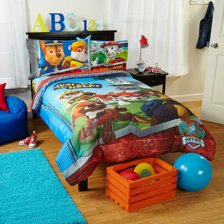 Nickelodeon's Paw Patrol Kids Bedding Comforter, Twin ()