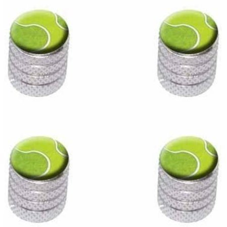 Tennis Ball Sporting Goods Sportsball Tire Rim Wheel Aluminum Valve Stem Caps, Multiple