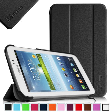 Fintie Case for Samsung Galaxy Tab 3 7.0 Tablet SM T210/SM T211 Shell - Slim Lightweight Stand Cover, Black - Walmart.com