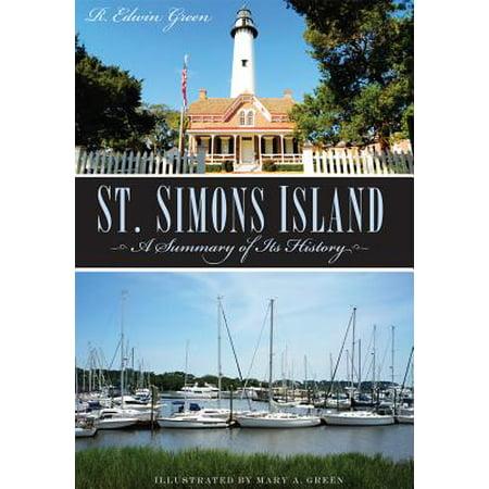 St. Simons Island : A Summary of Its History](History Halloween Summary)