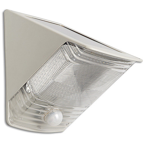 Maxsa 40236 Solar Wedge Light, Black