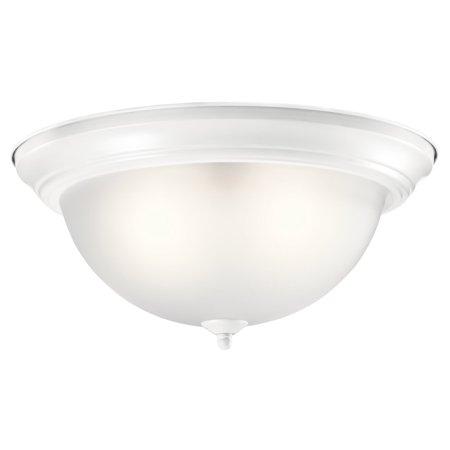 Kichler Brass Flush Mount Lighting - Kichler Transitional Flush Mount Light
