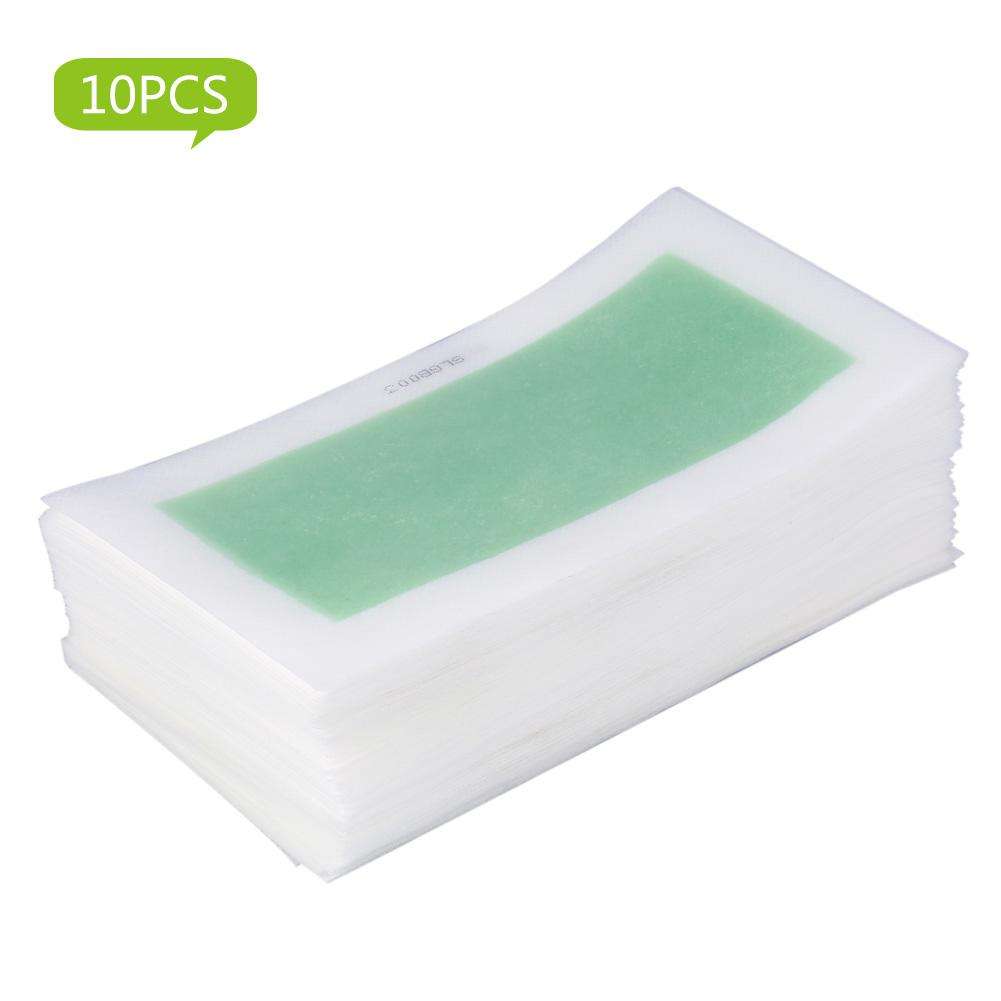 Waxing Strip Paper Waxing Paper 10pcs Set Leg Arm Armpit Hair