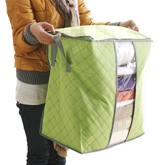 Hot Sale Portable Organizer Storage Box Non Woven Underbed Pouch Storage Bag
