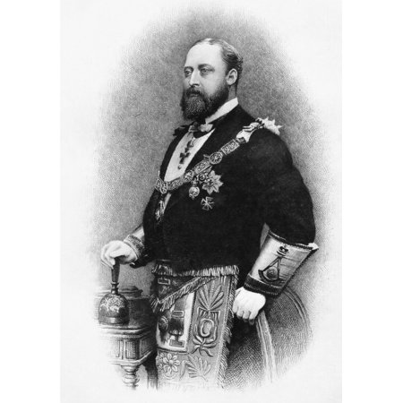Albert Edward Prince Of Wales Duke Of Saxony Prince Of Saxe Coburg Gotha 1841 To 1910 Future King Edward Vii Of Great Britain And Ireland 1901 To 1910 Grand Master Of The United Grand Lodge Of Freemas
