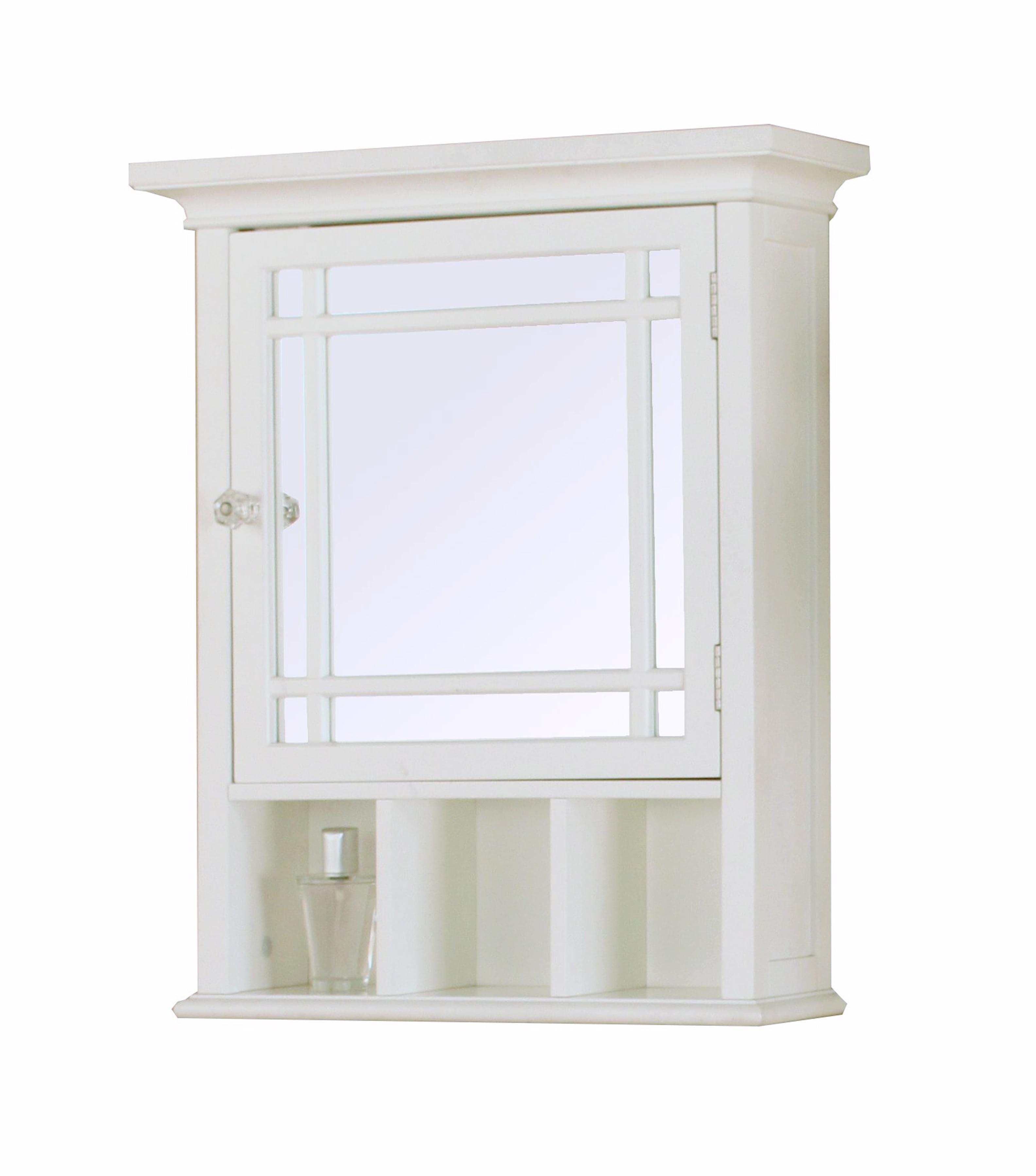 Heritage Medicine Cabinet, White - Walmart.com