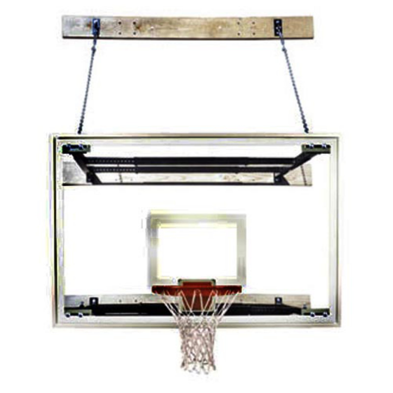 First Team Supermount Tradition Wallmount Basketball System