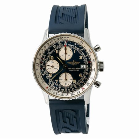 Pre-Owned Breitling Navitimer B13019 Steel Watch (Certified Authentic & Warranty)