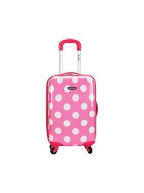 "Product Image Rockland Luggage 20"" Hard Sided Polycarbonate Carry On F208"
