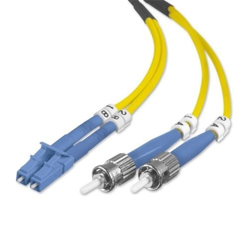 Belkin Fiber Optic Duplex Patch Cable - ST Male - LC Male - 9.84ft