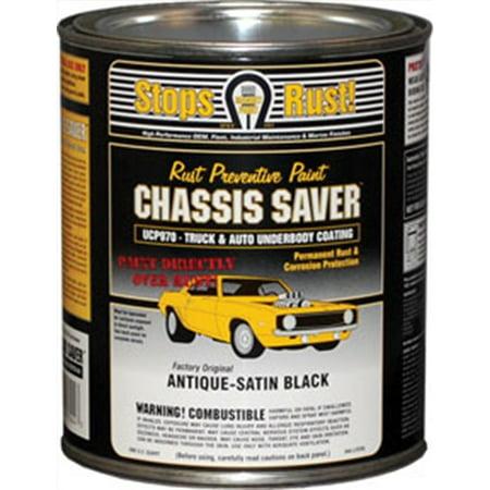 Chassis Saver Antique Satin Black, 1 Quart Magnet Paint Co UCP970-04 MPC