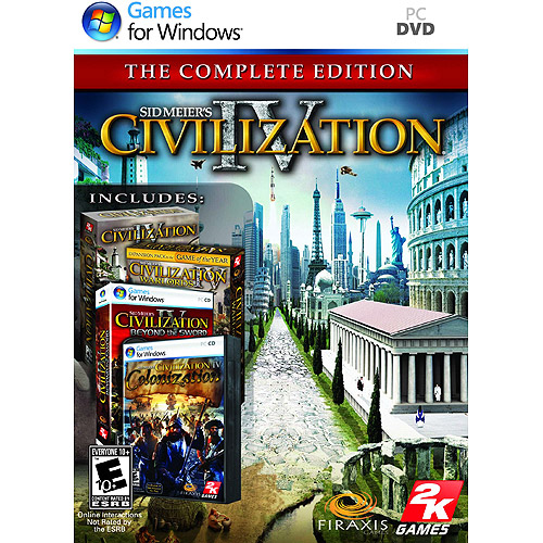 Sid Meier's Civilization IV - The Complete Collection NM
