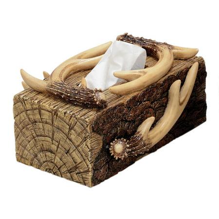 Antler   Bark Rectangular Tissue Box