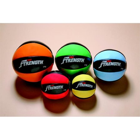 Sportime 1017768 8.8 Lb Strength Medicine Ball, Green & Black