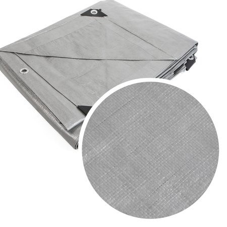- 20X30 3 Layer Heavy Duty Silver Tarp