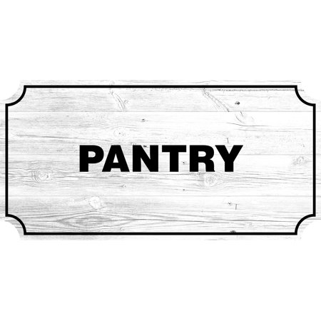Pantry Farmhouse Country Sign, Rustic Wall Decor Living Room Signs, 12x24 Inch Farm Room Decor