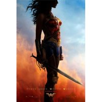 Pop Culture Graphics MOVAB24155 Wonder Woman Movie Poster, 11 x 17