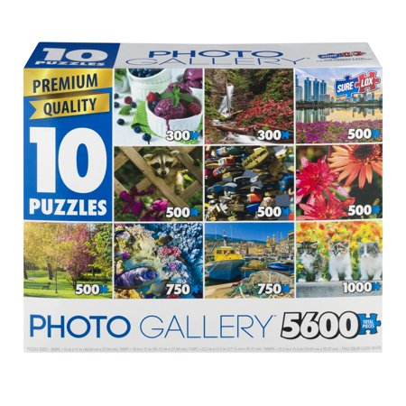 Photo Gallery Photo Gallery Puzzles, 5600.0 PIECE(S) - Walmart.com