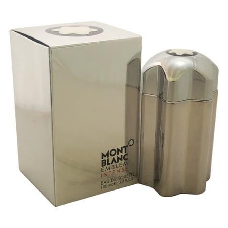 Mont Blanc Emblem Intense by Mont Blanc for Men - 3.3 oz EDT Spray](mont blanc emblem cologne review)
