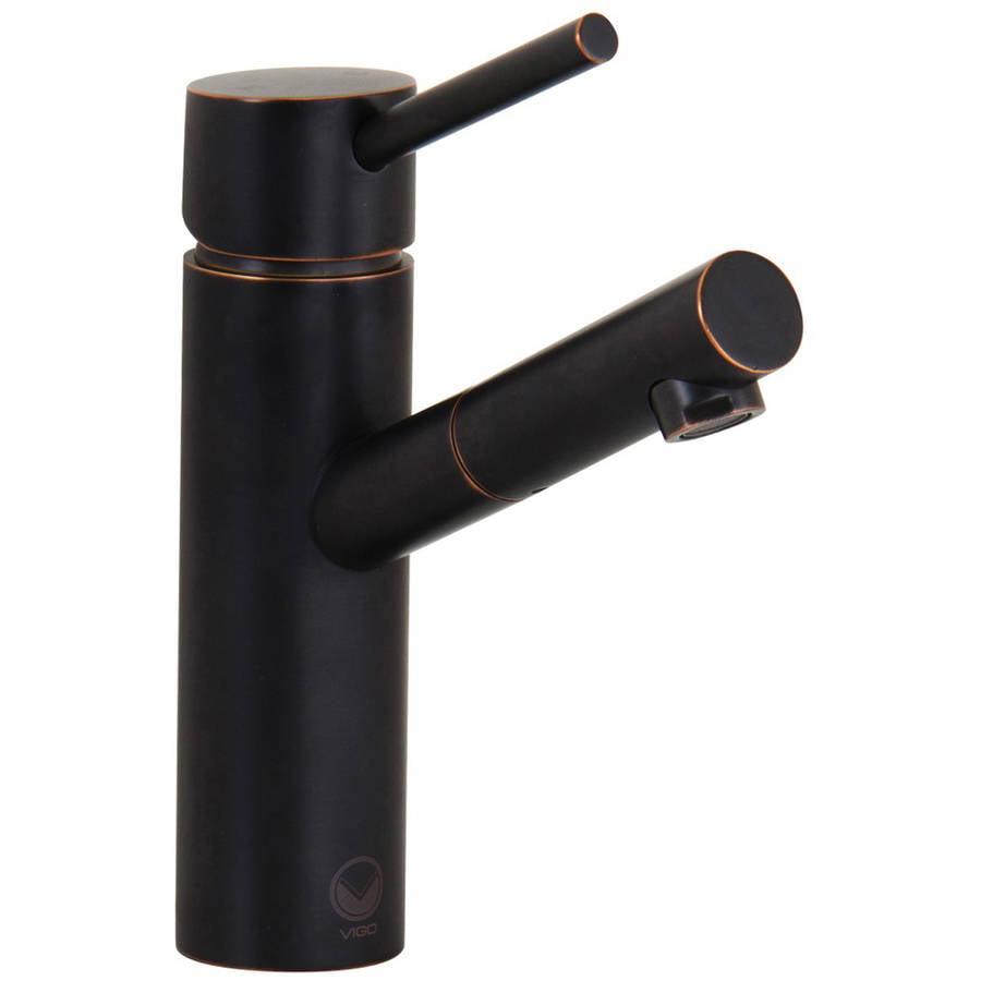VIGO Niko Bathroom Vessel Faucet, Brushed Nickel - Walmart.com