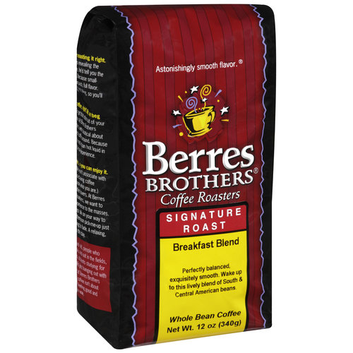 Berres Brothers Coffee Roasters Breakfast Blend Coffee Beans, 12 oz