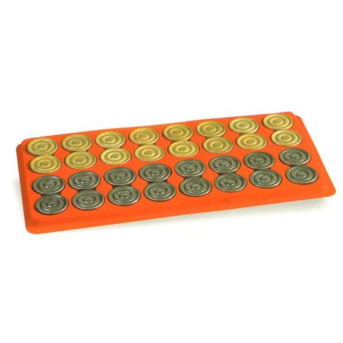 Metal Backgammon Checkers by Cambor Games