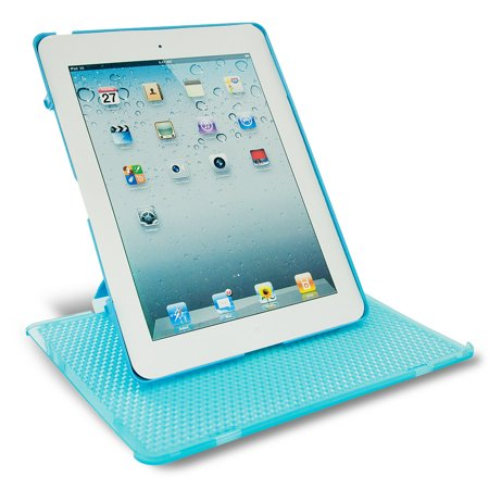 Keydex Slim-Fit Genius Cover for iPad with Rotating Stand - Blue