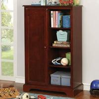 Furniture of America Taylor Children's Cherry Closet Storage